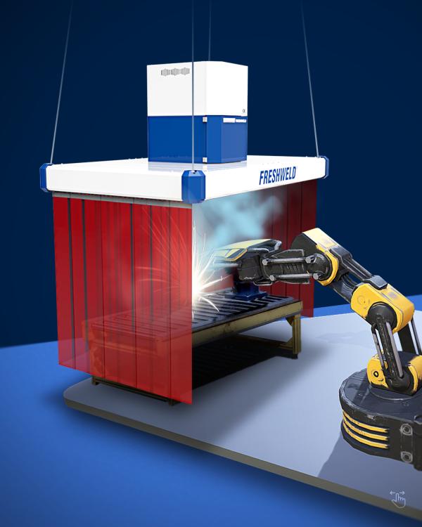 Robotic Welding Cabins, Kaynak Robotu kabinleri