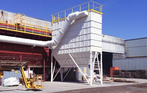 Endüstriyel Havalandırma Sistemleri Bag Filter