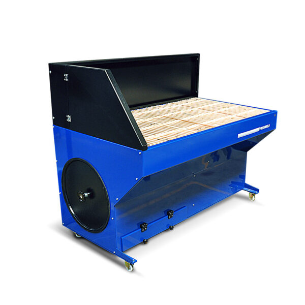 Downdraft Extraction Table for grinding
